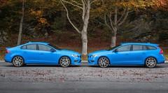 Volvo S60 et V60 Polestar 2016 : deux cylindres en moins, des chevaux en plus