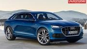 Audi Q8 : Un SUV-coupé grand format, l'Audi Q8