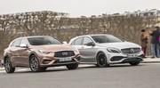 Essai comparatif : l'Infiniti Q30 défie la Mercedes Classe A