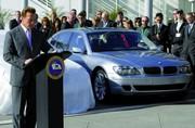 BMW Série 7 Hydrogène: tests réussis