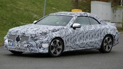 Mercedes Classe E Cabriolet 2018 : Bien camouflée, la future Classe E Cabriolet