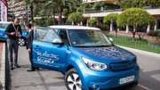 11e Salon Ever Monaco : Kia, Pariss et Racinger City Tour