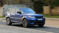 Essai : Range Rover Sport SVR 550 ch : Terreur dans le rétro