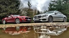 Essai Ford Mustang vs Mercedes Classe C Coupé : Coupés décalés