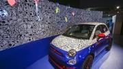 Fiat 500 Pepsi : avec même des bulles dedans