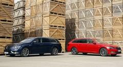 Essai Renault Talisman Estate vs Skoda Superb Combi : duel de breaks