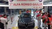 Alfa Romeo Giulia : la production est lancée