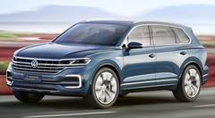 Volkswagen T-Prime GTE Concept : Le concept T-Prime GTE, un Touareg XXL
