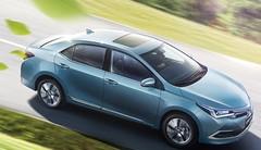 La Toyota Corolla hybride rechargeable pour la Chine
