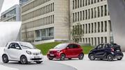 Nouvelle Smart Brabus 2016 : infos, photos et fiches techniques