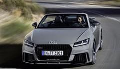 Audi TT RS coupé et TT RS roadster 2016 : 400 ch pour le TT RS 2016