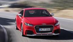 Audi TT RS : puissance en coupé et en cabriolet