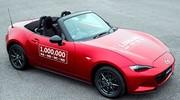 Mazda : la MX-5 atteint le million d'exemplaires produits