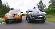 Land Rover Freelander vs Peugeot 4007 : Le néophyte contre la référence