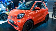 Smart a lancé une nouvelle version Brabus en Chine
