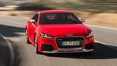 Audi TT RS Coupé et TT RS Roadster : 400 ch et Audi Matrix OLED
