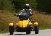 Essai BRP Can-Am Spyder 106 ch : Trois roues, sinon rien !