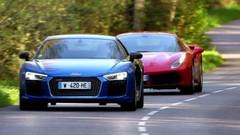 Emission Automoto : 488 GTB vs R8, M2, Edge