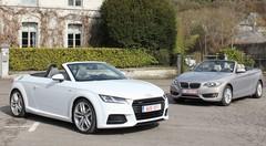 Essai Audi TT Roadster vs BMW Série 2 Cabriolet : Plutôt roadster ou cabrio ?