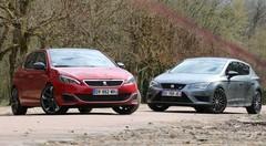 Essai Peugeot 308 GTi vs Seat Leon Cupra
