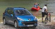 Peugeot 207 SW Outdoor : Les petits chemins