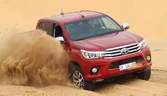 Essai Toyota Hilux (2016) : Désert à volonté