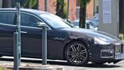 Le futur restylage de la Maserati Quattroporte 2017 surpris sur la route