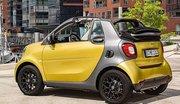 La Smart Fortwo Cabrio débarque en boîte manuelle