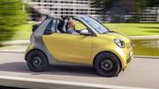 Smart Fortwo Cabrio : arrivée d'une boîte manuelle