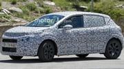 Spyshot nouvelle Citroën C3 2016 : avec les rondeurs du C4 Picasso