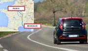 De Paris à Monaco en voiture électrique : c'est possible ?