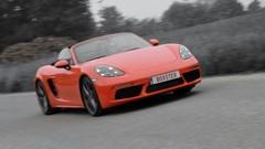 Essai Porsche 718 Boxster S : 4 cylindres, mieux que 6 ?