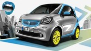 Smart confirme les ForTwo et ForFour électriques pour le Mondial