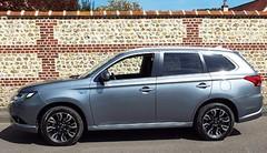 Essai Mitsubishi Outlander PHEV : toujours plus électrique qu'hybride