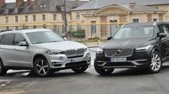 Essai BMW X5 et Volvo XC90 hybrides : la survie des dinosaures