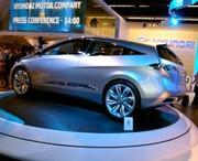 Hyundai i-Blue Concept : D'un bleu très vert