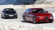 Essai Alfa Romeo Giulia vs BMW Série 3 : choc au sommet