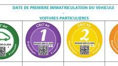 Vignettes CRIT'Air : nouvelles règles de circulation en ville