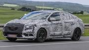 Future Renault Fluence : La future Mégane quatre-portes se fait surprendre