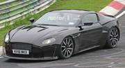 Aston Martin : la nouvelle V8 Vantage se prépare