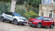 Essai Peugeot 2008 restylé vs Renault Captur : Un duel plus serré que jamais