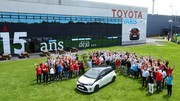 Toyota Yaris Made in France : 3 millions produites à Valenciennes