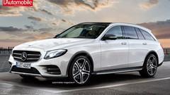 Mercedes Classe E Break Offroad : Une Classe E Break baroudeuse au Mondial