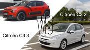 Citroën C3 2 VS Citroën C3 3 : les différences en vidéo