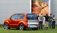Renault Kangoo Compact Concept : résolument tourné vers les jeunes