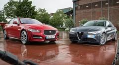 Essai Alfa Romeo Giulia vs Jaguar XE : les chaînons manquants