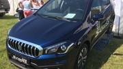 Le restylage du Suzuki S-Cross se montre en Hongrie