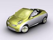 Nissan Micra CC Colour Concept