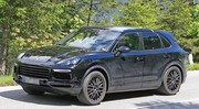 Le futur SUV Porsche Cayenne prend l'air