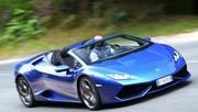 Essai Lamborghini Huracan Spyder 2016 : jamais aussi proche des nuages